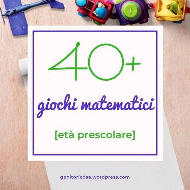 trenino e altri giochi per stimolare il pensiero matematico dei piccoli